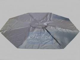 Capa Para Ombrelone de 2,60m. de Diâm. com Saquinhos, sem abas, varetas de 1,32m.
