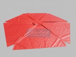 Capa Para Ombrelone de 2,80m de Diâm. com Saquinhos, com abas, varetas de 1,45m.