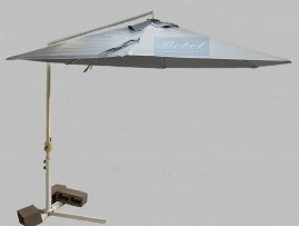 Capa Para Ombrelone  Lateral de 3m de Diâm. com Saquinhos, sem abas, varetas de 1,50m.