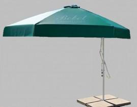 Capa Para Ombrelone de 2,95m de Diâm. com Saquinhos, com abas, varetas de 1,47m.