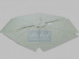 Capa Para Ombrelone de 2,40m de Diâm. com abas, varetas de 1,26m.