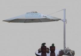 Capa Para Ombrelone Lateral de 3,70m. de Diâm. com Saquinhos, sem abas, varetas de 1,74m.